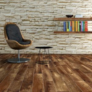 Chalet Mahogany Red Porcelain Tile