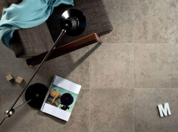 """Fossil-Grey 18"""" x 18"""" Porcelain Tile"""