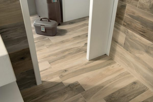 "All Wood Acero 6.5""x40"" Porcelain Glazed Rectified Tile"
