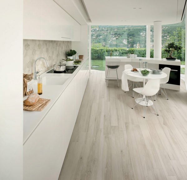 "All Wood Abete 10""x40"" Porcelain Glazed Rectified Tile"