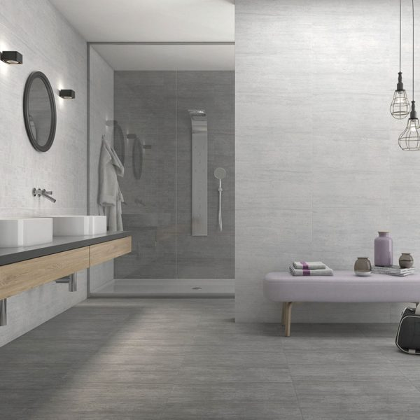 1 ATRIUM MOON Marengo 12x24 porcelain floor wall tile QDI Surfaces product room scene 800x800 1