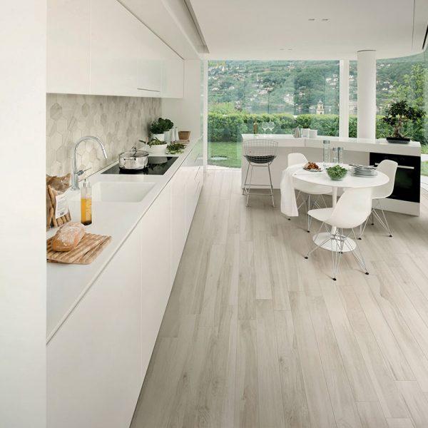 1 ALLWOOD Abete 6.5x40 porcelain floor wall tile QDI Surfaces product room scene 800x800 1