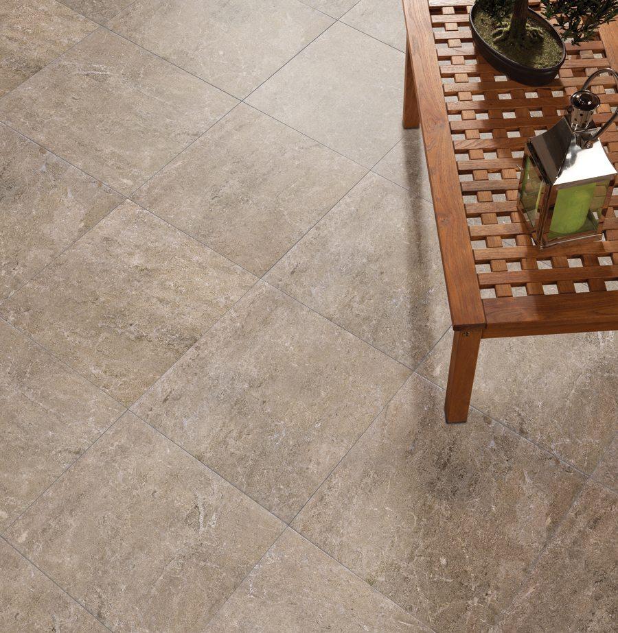 Alara Beige 18x18 Ceramic Floor Wall Tile Qdi Surfaces