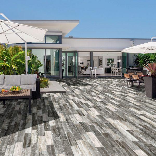 1 ABITARE Baita 4x16 porcelain floor wall tile QDI Surfaces product room scene 800x800 1