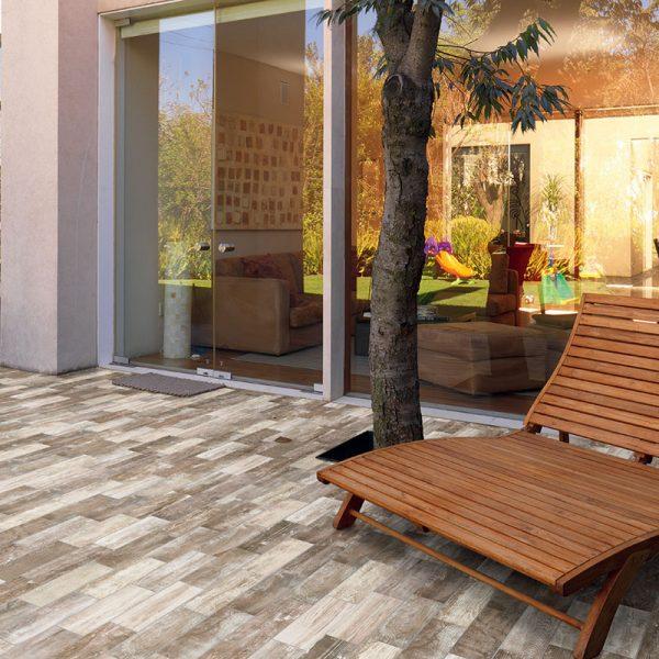 1 ABITARE Chalet 4x16 porcelain floor wall tile QDI Surfaces product room scene 800x800 1