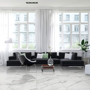 Arya Beyaz 24x24 Polished Porcelain Tile