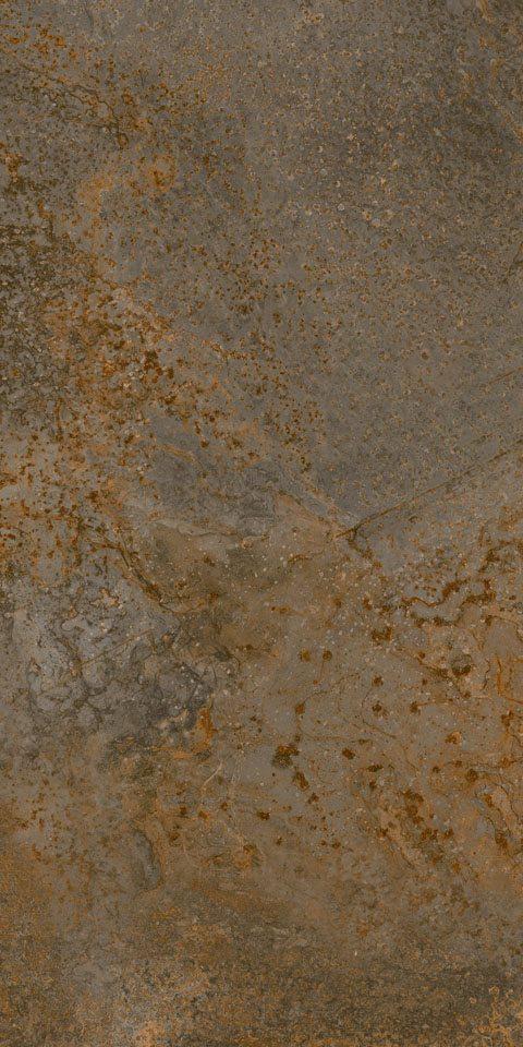 Aegean Magma Charcoal 12x24 Porcelain Tile