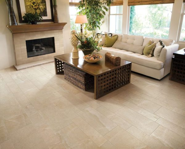 Eternal Limestone Bianco Porcelain Tile