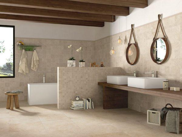 Roma Celio Mudulare pattern Porcelain Tile