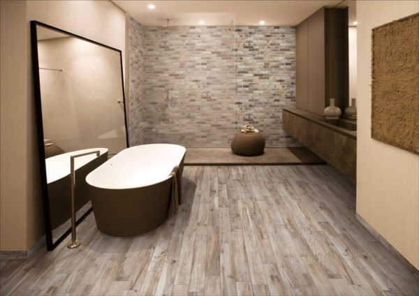 Living Marrone Porcelain Tile