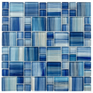 Glass Mosaic tile Brio watercolor