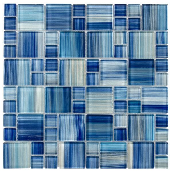 Glass Mosaic tile Brio watercolor