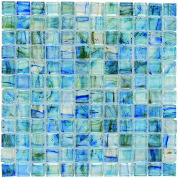 Glass Mosaic Tile aries Lake