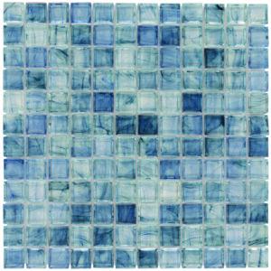 Glass Mosaic Tile aries Arctic Breeze