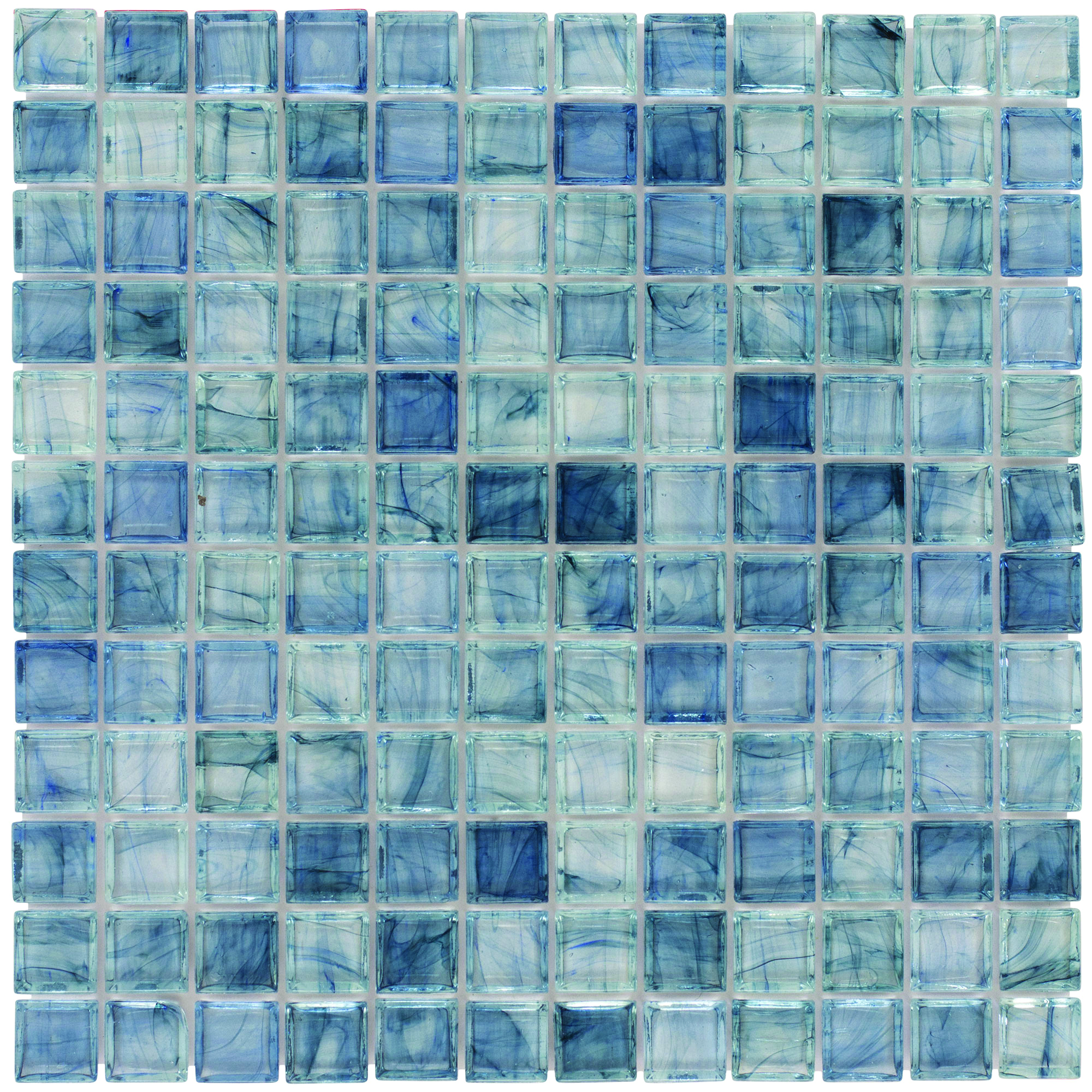 Aries - Arctic Breeze Glass Mosaic Tile | QDI Surfaces