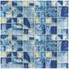 MONET Siren's Breeze Glass Mosaic Tile