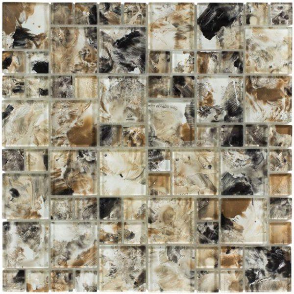 Glass mosaic tile Monet - Earthenware