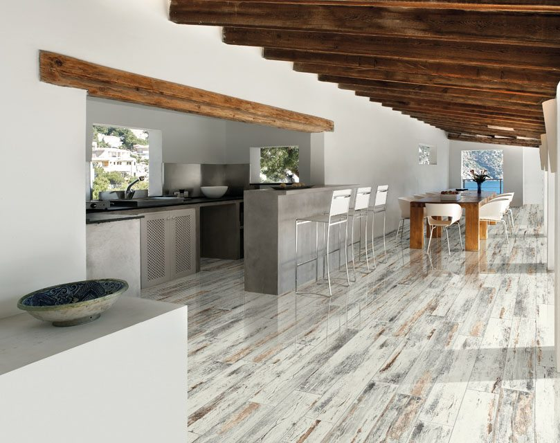 Mamawood Antique White 8x48 Glazed Porcelain Tile Qdisurfaces