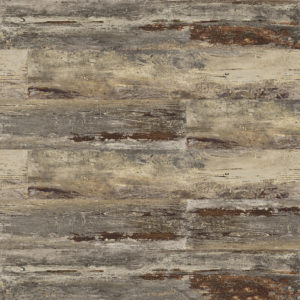 "MAMAWOOD Old Teak 8""x48"" Glazed Porcelain Floor & Wall Tile"