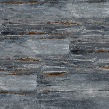 "MAMAWOOD Painted Blue 8""x48"" Glazed Porcelain Floor & Wall Tile"