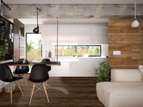 """TEXAS Caoba 12""""x36"""" Glazed Porcelain Floor & Wall Tile"""