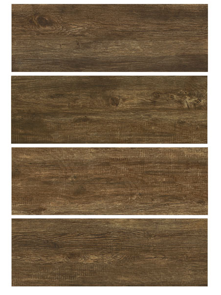 "TEXAS Castano 12""x36"" Glazed Porcelain Floor & Wall Tile"