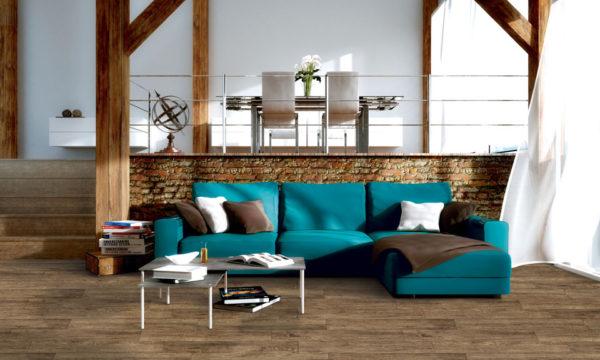 "TEXAS Castano 12""x36"" Glazed Porcelain Floor & Wall Tile"