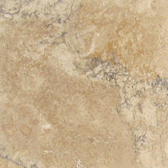 antique gold light natural stone travertine tile 18x18 filled and honed tan brown beige cream gray