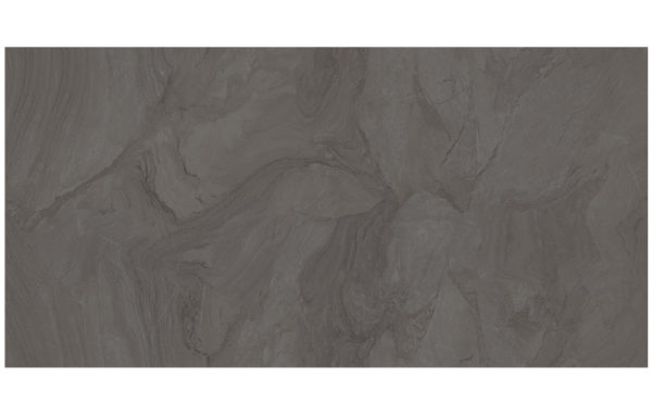 "ATLANTIS ANTHRACITE 48""x96"" Glazed Rectified Polished Porcelain Slab"
