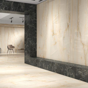 "ONYX OPALE 48""x96"" Glazed Rectified Polished Porcelain Slab"