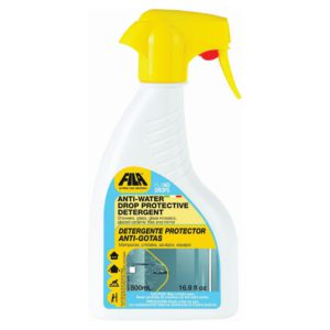FILANO DROPS spray detergent for cleaning glass, perfect for showers