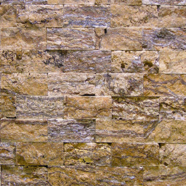 Alpine Travertine Split Face Tile Tan Brown Beige Cream Gray Indoor Outdoor Wall Backsplash Tub Shower Vanity QDIsurfaces