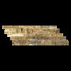 Alpine 3-Size Z-Pattern Travertine Split-face Mosaic Tile