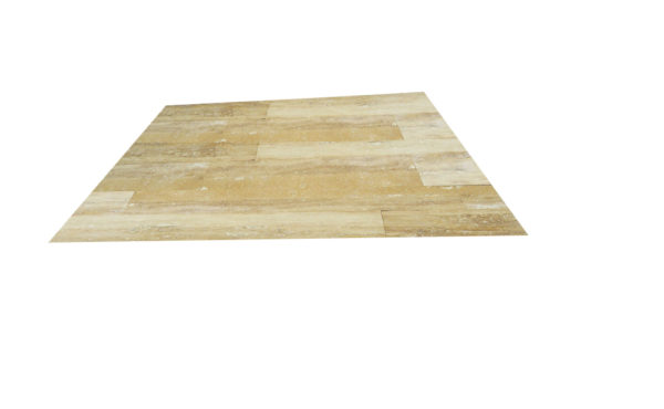 Ancient Castle Travertine Plank Floor Tile 6x32 Honed 2 Tan Brown Beige Cream Indoor Floor Wall Backsplash Countertop Tub