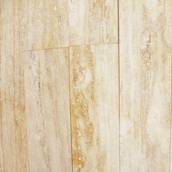 Ancient Castle Travertine Plank Floor Tile 6x32 Honed 3 Tan Brown Beige Cream Indoor Floor Wall Backsplash Countertop Tub QDI