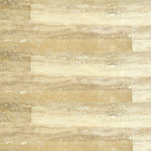 Ancient Castle Travertine Plank Floor Tile 6x32 Honed 5 Tan Brown Beige Cream Indoor Floor Wall Backsplash Countertop Tub QDI
