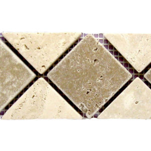 BRD 01 110 Travertine Border Tile Tan Brown Beige Cream Indoor Wall Backsplash Tub Shower Vanity QDIsurfaces