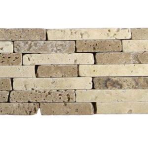 BRD Citona Travertine Border Tile Tan Brown Beige Cream Indoor Wall Backsplash Tub Shower Vanity QDIsurfaces
