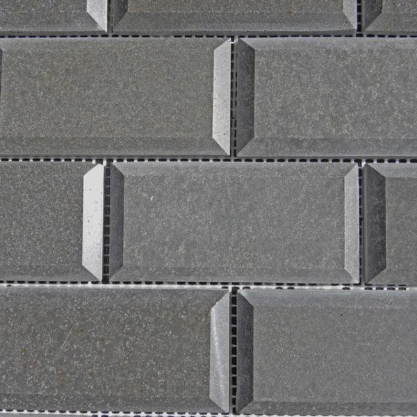 Black Basalt Mosaic Tile Gray Indoor Floor Wall Backsplash Countertop Tub Shower Vanity QDIsurfaces