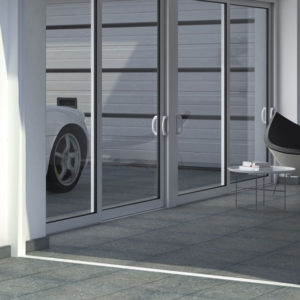 "BLUENORTE GRIS 24""x24"" Glazed Rectified Colored Body Porcelain Tile"