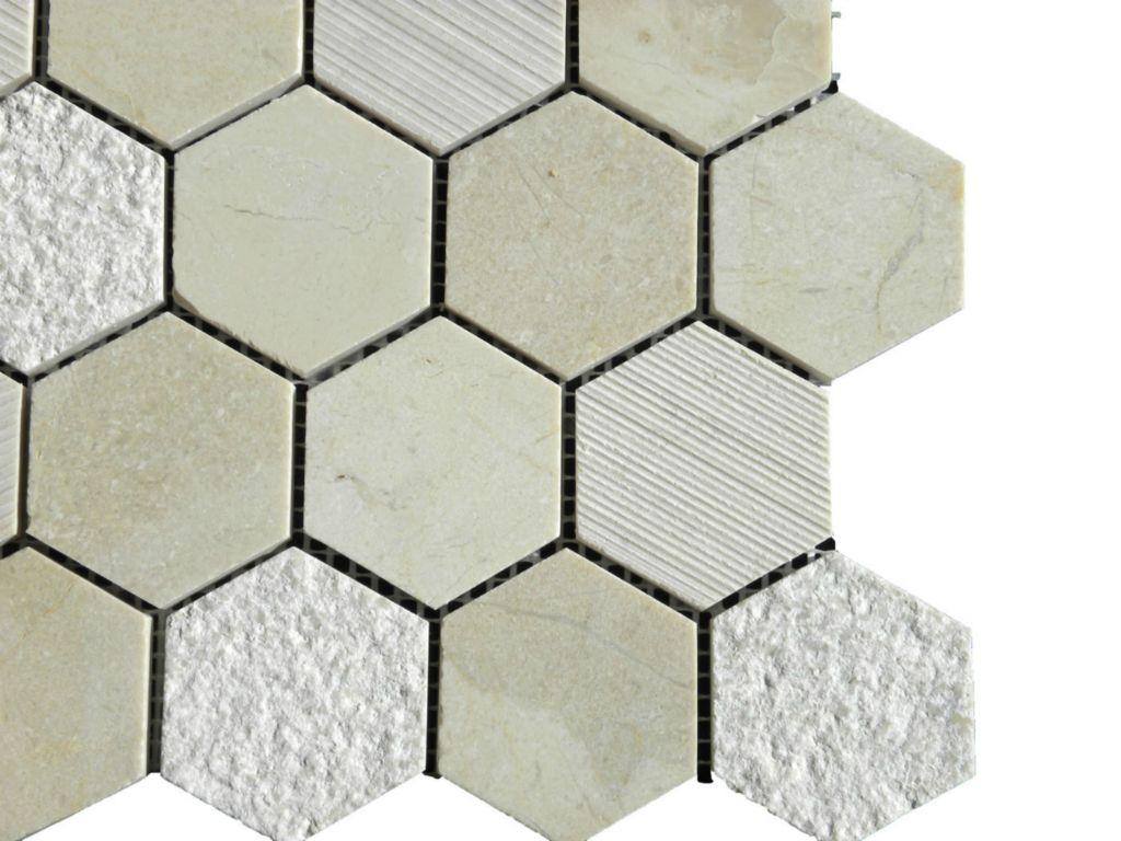 - CREMA MARFIL Marble Mosaic Tile QDI Surfaces®