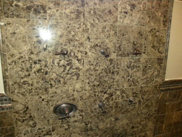 Dark Emprador Marble Tile 12x12 Polished 11 Brown Tan Indoor Floor Wall Backsplash Tub Shower Vanity QDIsurfaces