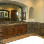 Dark-Emprador-Marble-Tile-12×12-Polished-14-Brown-Tan-Indoor-Floor-Wall-Backsplash-Tub-Shower-Vanity-QDIsurfaces