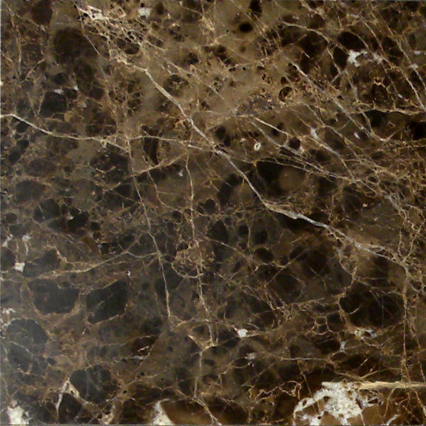 Dark Emprador Marble Tile 12x12 Polished 3 Brown Tan Indoor Floor Wall Backsplash Tub Shower Vanity QDIsurfaces