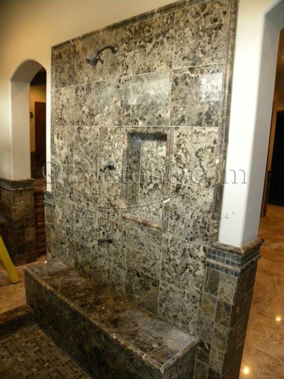 Dark Emprador Marble Tile 12x12 Polished 9 Brown Tan Indoor Floor Wall Backsplash Tub Shower Vanity QDIsurfaces