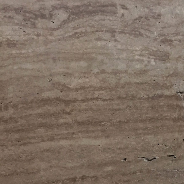 English Walnut Vein Cut Travertine Slab 9x6 Unfilled Honed 2 Tan Brown Beige Cream Indoor Outdoor QDISurfaces