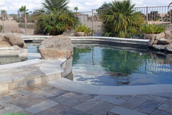 Fantastico Classic Travertine Paver Versailles Pattern Tumbled 3 Beige Cream Tan Brown White Gray Outdoor Floor Wall Pool Patio