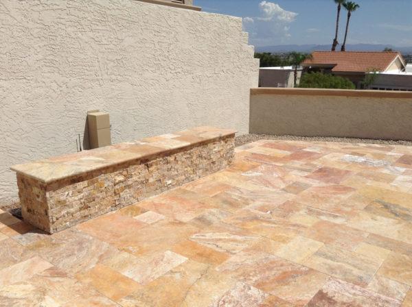 Fantastico Travertine Split Face Tile 2x4 3 Tan Brown Beige Cream Gray Indoor Outdoor Wall Backsplash Tub Shower Vanity QDI