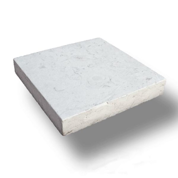 Freska Limestone Paver 12x12 5cm Tumbled White Gray Outdoor Floor Wall Pool Patio Backyard QDIsurfaces