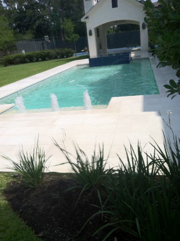 Freska Limestone Paver 16x24 Tumbled 3 White Gray Outdoor Floor Wall Pool Patio Backyard QDIsurfaces